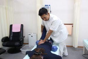 和歌山市ひらの整骨院の股関節の痛みやお尻の痛みの施術