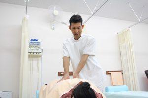 和歌山市ひらの整骨院の足首の痛みやアキレス腱の痛みの施術